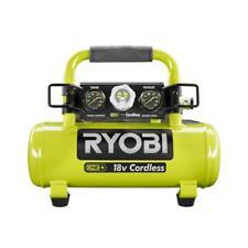 Ryobi Air Compressor 1 Gal 18-Volt Cordless Tank Pressure Gauge (Tool Only) P739