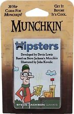 Munchkin Hipsters Expansion Card Game Add 30 Cards Steve Jackson Booster SJG4250