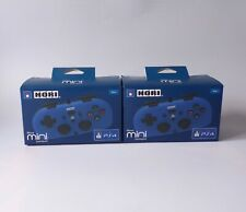 x2 HORI Wired Gamepad Controller (Blue) for SONY Playstation 4 PS4 (NEW, Sealed)