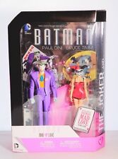 DC JOKER & HARLEY QUINN ACTION FIGURES WITH MAD LOVE COMIC BOOK SET