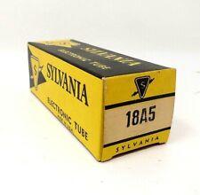 Vintage Electronic Tube - 18A5 Sylvania Tube - NOS in boxes          BRT016