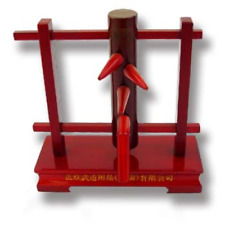 Mini Wooden Dummy Stand Gift Display Figure Figurine Kung Fu Tai Chi Wu Shu