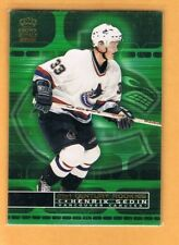 2000-01 Crown Royale Henrik Sedin 21st Century Rookies #25 Canucks