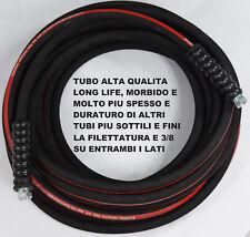 TUBO IDROPULITRICE PROFESSIONALE LAVOR/KARCHER 3/8 40 MT 400 BAR DOPPIO STRATO