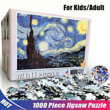 Starry Night 1000 Piece Jigsaw Educational Games Puzzle Assembling Puzzles Toys