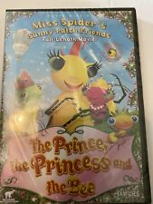 Miss Spider's Sunny Patch Friends the Prince, the Princess and the Bee [DVD] NEW
