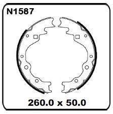 Kia Pregio CT 2.7L 2004 onwards REAR Drum Brake Shoe SET N1587-04