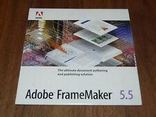 Adobe FrameMaker 5.5 version française pour Windows Vollversion