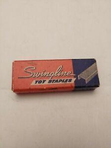 Vintage Swingline Tot  Staples Pkg of 1000