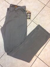Tailor Vintage Men's Slim Fit 5 Pocket Knit Gray Pant 38 x 33 NWT $119
