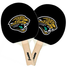 NEW PAIR 2 PIECES TWO NFL Jacksonville Jaguars Ping  pong Table Tennis Paddles