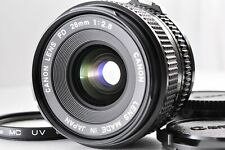 [NEAR MINT+++!!!] Canon New FD NFD 28mm F2.8 MF Wide Angle Lens Ship from JAPAN