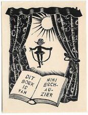 EPPO DOEVE: Exlibris für Nini Eschauzier, Seilspringerin