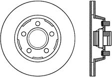 Disc Brake Rotor-Front Disc Front Right Stoptech 127.61053R