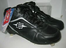 Easton Men's Baseball Cleats Foundation Mid Black Style M33282 Size 8.5 NEW