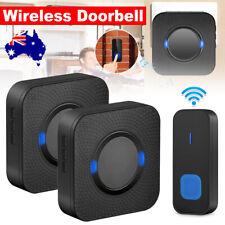 Wireless Door Bell Doorbell Set Digital Remote Control 2 Receivers 38 Chimes
