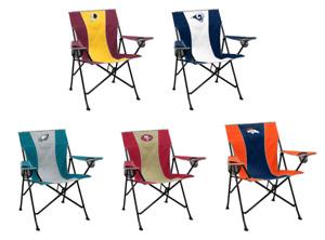NFL Logo Brands Pregame Portable Folding Quad Chairs