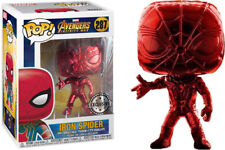 IRON SPIDER -  Funko Pop Avengers Infinity *Chrome Exclusive*