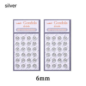 48Pc Mini Button Buckle for 1/6 Doll DIY Clothes Metal Buckle Invisible Snap US