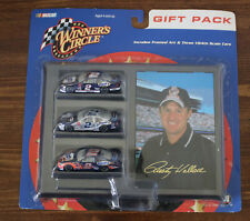 Rusty Wallace #2 Harley - 1:64 Winner's Circle Gift Pack w/3 cars and Framed Art