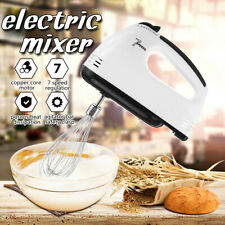 Electric Handheld Beater 7 Speed Mixer Portable Egg Whisker Kitchen Baking Tools