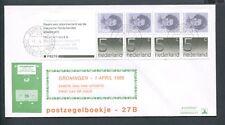 FDC postzegelboekje PB 27b + aanhangsel, Philato, bl/ok