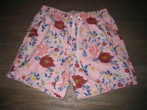 EUC Modern Amusement Swim Shorts (Pac Sun) - Pink w. Flowers. Mens MEDIUM  M