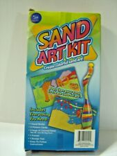 Sand Art Craft Kit with Everything Needed Bottle Pattern Cards Bags Sand Funnel