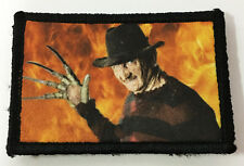 Freddy Kruger Morale Patch Tactical Military Army Badge Flag USA