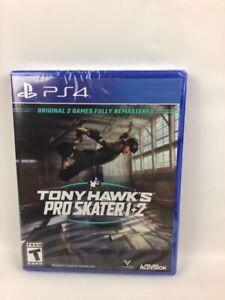 Tony Hawk's: Pro Skater 1 + 2 (PS4) Brand New Factory Sealed Sony PlayStation 4