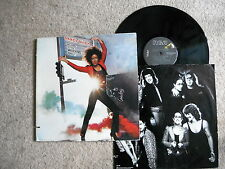 GRACE SLICK WELCOME TO THE WRECKING BALL ! US PRESS LP 1981 + INNER G/FOLD EXC