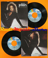 LP 45 7'' PEBBLES Girlfriend 1987 germany MCA 258 082-7 cd mc dvd vhs