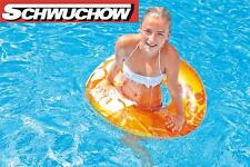 Intex Tires Swimming ring Neon Frost yellow Lounge Air mattress Pool Bestway