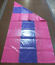 "New Playset  13 oz PVC Tarp with Brass Grommets - 56"" x 120"" - Made in USA"
