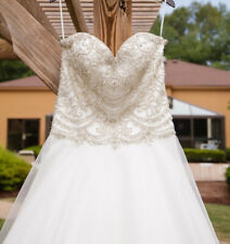 Pronovias Bolera Tulle Wedding Dress Gown Princess Size 14