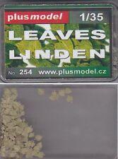 PLUSMODEL PLUS MODEL 254 - LEAVES LINDEN - 1/35 RESIN