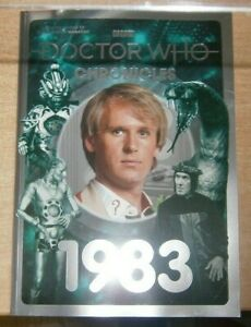 BBC Doctor Who Bookazine #26 2021 The Doctor Who Chronicles 1983 Peter Davison