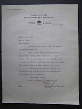 Movie Letterhead Famous Player 1918 The Bell Boy Roscoe Fatty Arbuckle B  Keaton