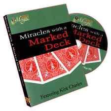 Marked Deck Miracles ! DVD Zaubern gezinkte Karten !