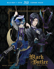 Black Butler: Book of Circus Altenate Edition (BD/DVD, 2016, 4-Disc Set)