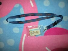 DEF LEPPARD & JOURNEY TICKET STUB IN LAMINATE POUCH WITH STRAP 2006