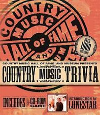*Country Music Trivia Hall of Fame includes CD rom game
