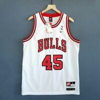 100% Authentic Michael Jordan Bulls #45 Nike Swingman NBA Jersey Size XL 48 Mens