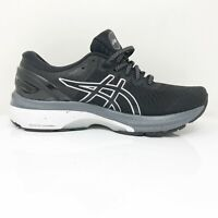 Asics Womens Gel Kayano 27 1012A713 Black Running Shoes Lace Up Size 8 Wide