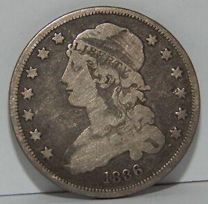 1836 - U.S. - Silver - Capped Bust Quarter - 25¢