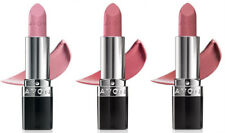 Avon 3 True Color Lipstick Shade Carnation Toasted Rose Proper Pink $24 NEW
