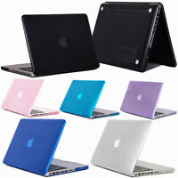 "For Macbook Pro 13"" 15"" Inch Rubberized Hard Laptop Case w/ Clear Keyboard Shell"