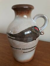 West german pottery vase scheurich-keramik 490-25 W.GERMANY