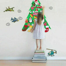 DIY Felt Christmas Tree Set with Ornaments for Kids Xmas Gifts New Year DecorHOT