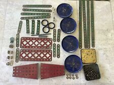Meccano Parts from Early 1930s-In poorer condition.